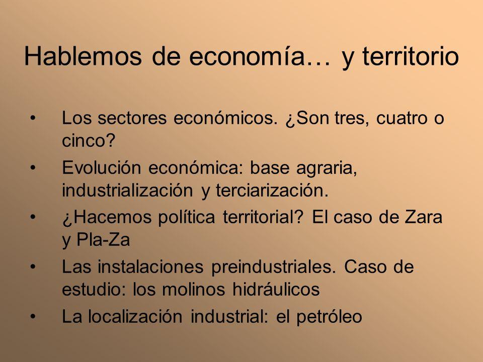 Hablemos de economía… y territorio