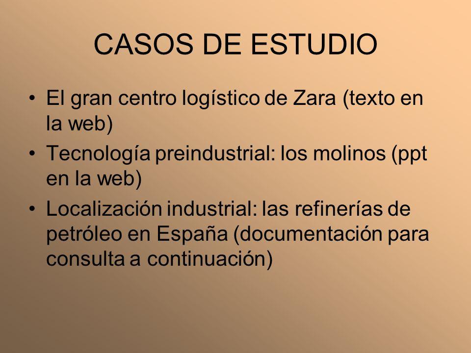 CASOS DE ESTUDIO El gran centro logístico de Zara (texto en la web)