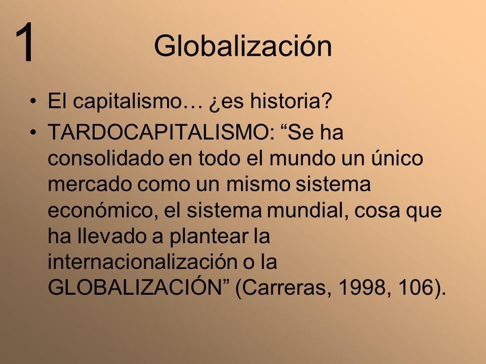 1 Globalización El capitalismo… ¿es historia