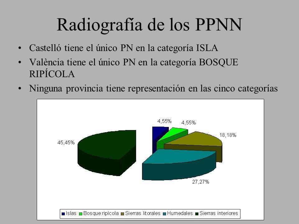 Radiografía de los PPNN