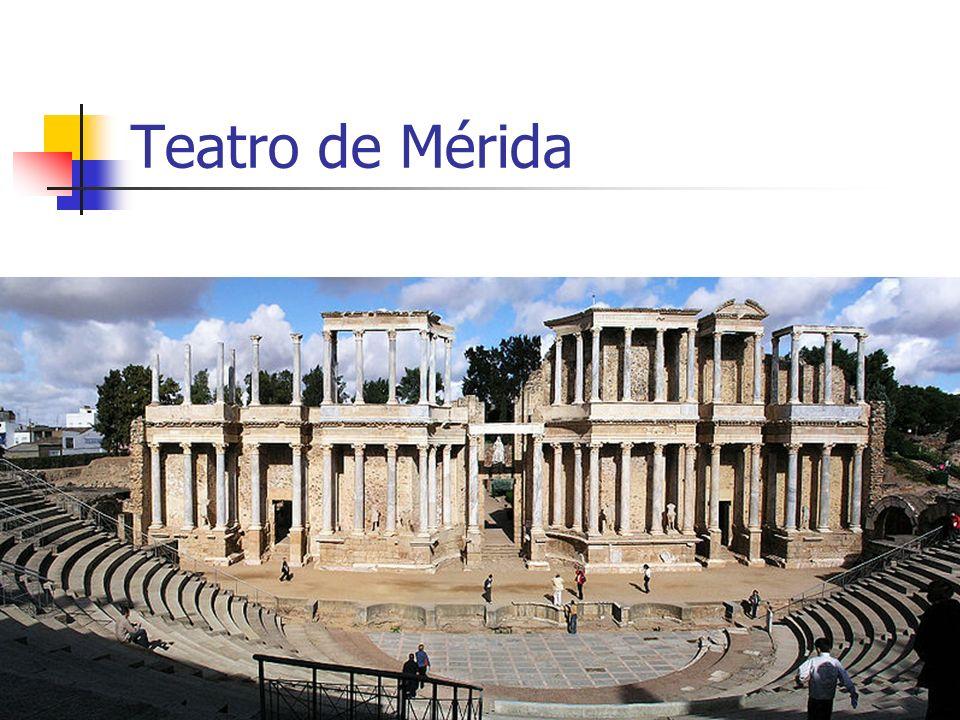 Teatro de Mérida Arte Romano