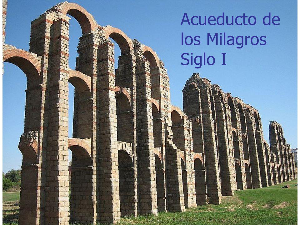 Acueducto de los Milagros Siglo I