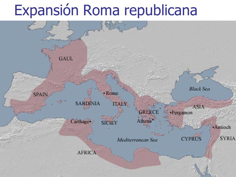 Expansión Roma republicana