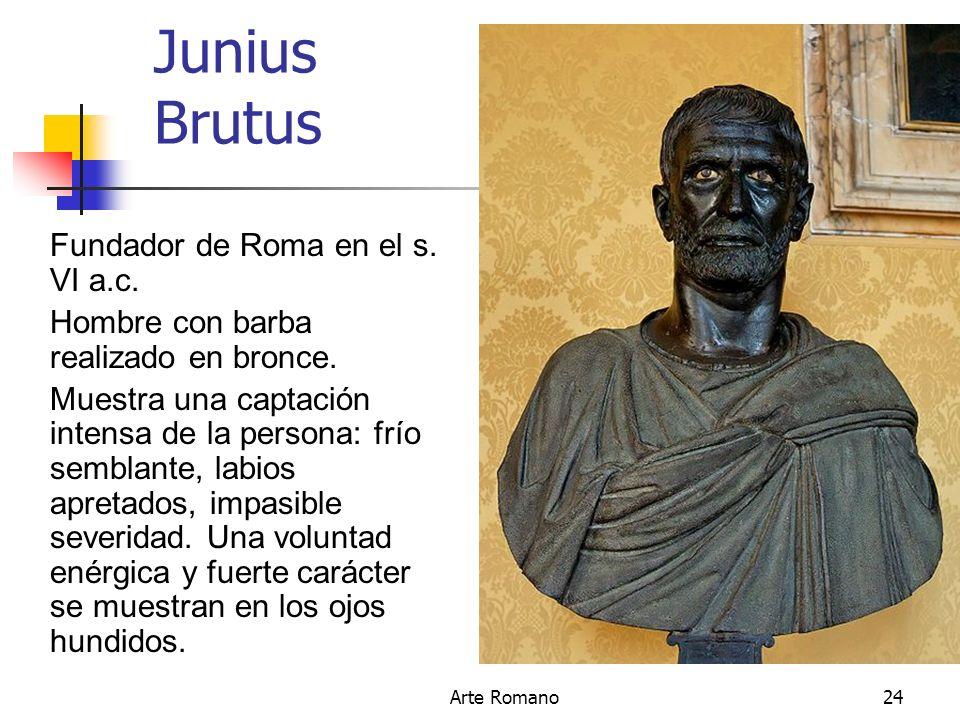 Junius Brutus Fundador de Roma en el s. VI a.c.