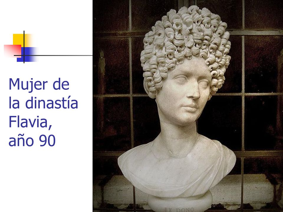 Mujer de la dinastía Flavia, año 90