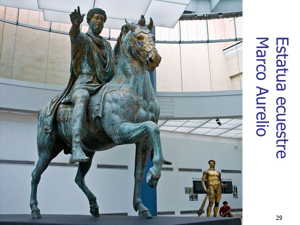 Estatua ecuestre Marco Aurelio