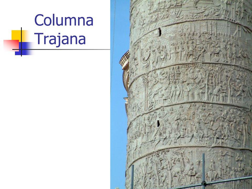 Columna Trajana Arte Romano