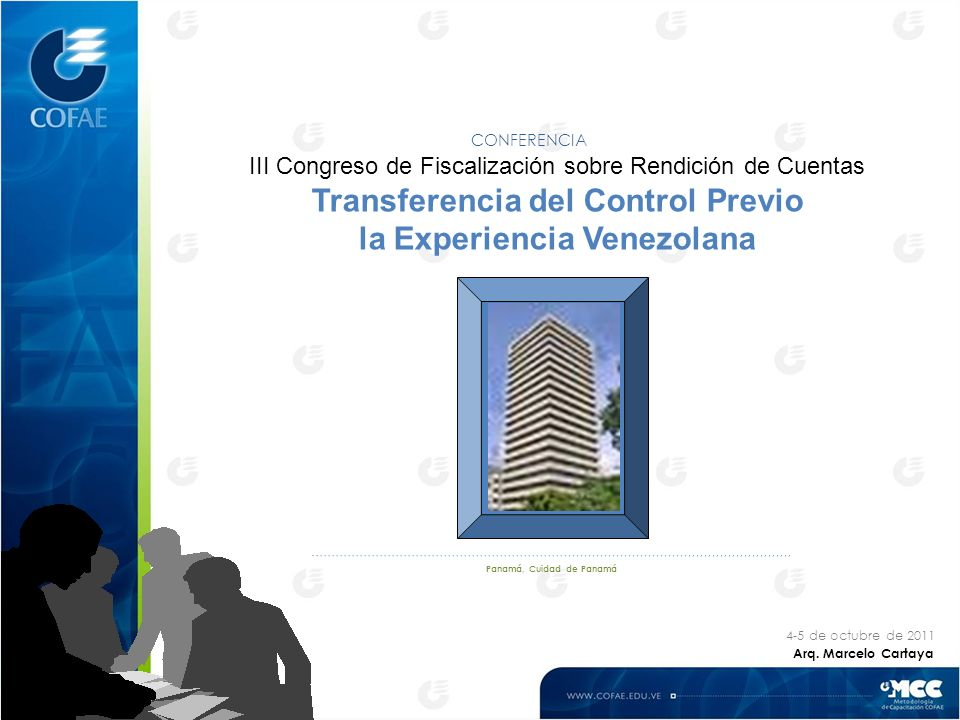Transferencia del Control Previo la Experiencia Venezolana