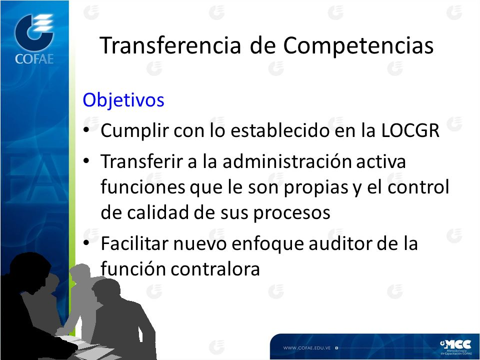 Transferencia de Competencias