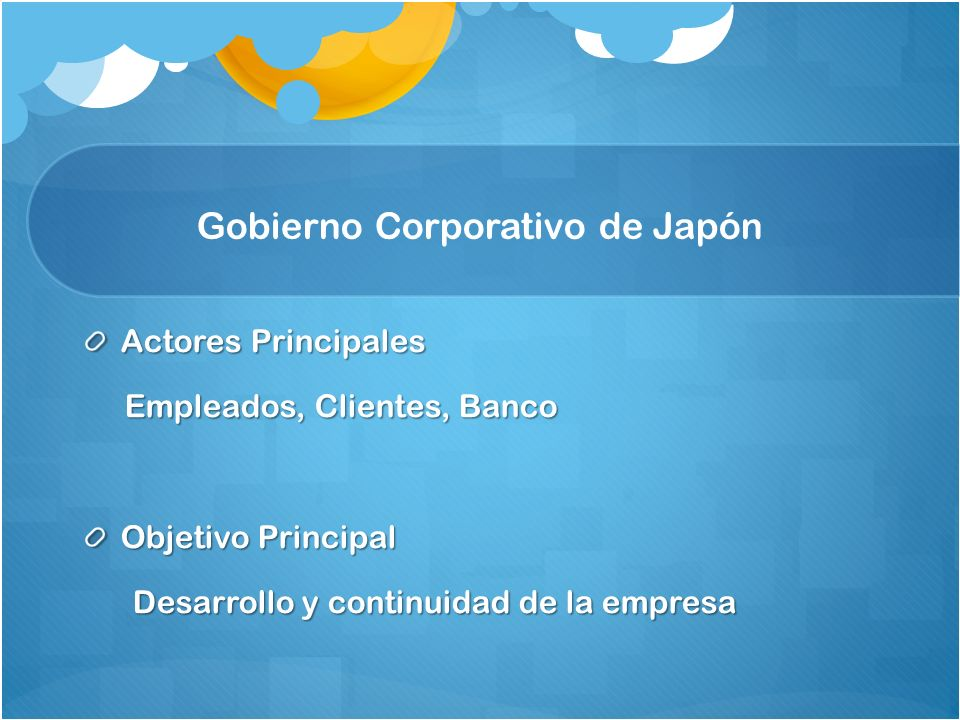 Gobierno Corporativo de Japón