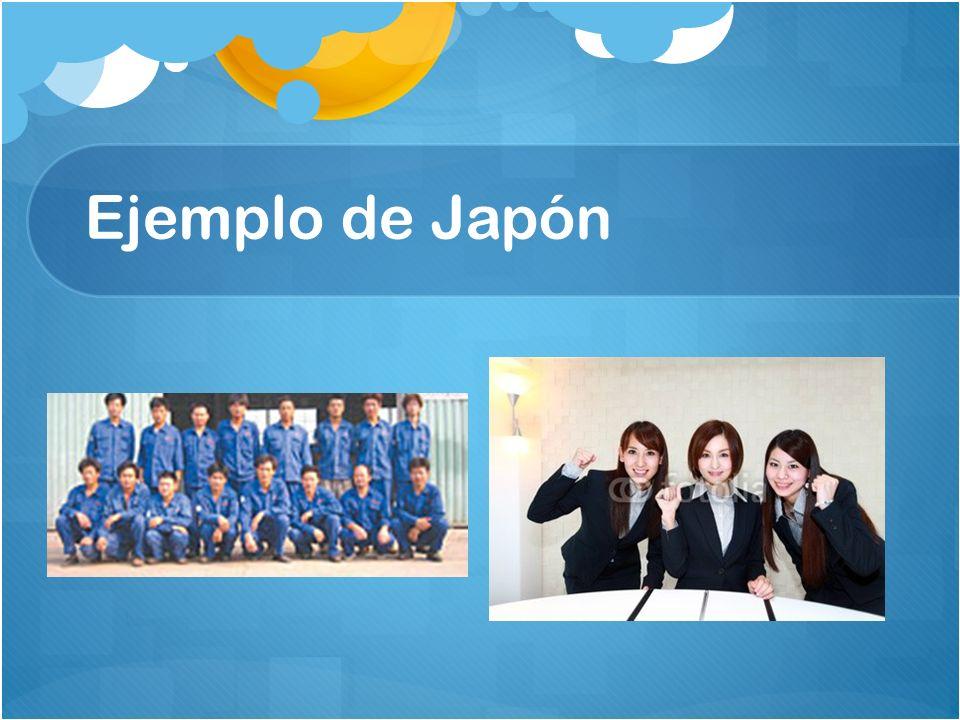 Ejemplo de Japón