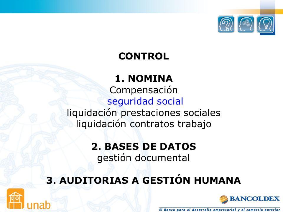 CONTROL 1.