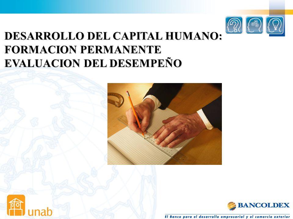 DESARROLLO DEL CAPITAL HUMANO: