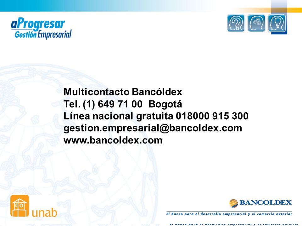 Multicontacto Bancóldex
