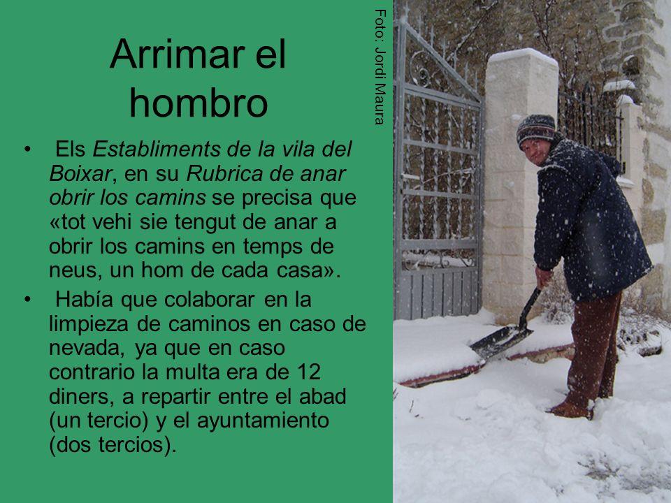 Foto: Jordi Maura Arrimar el hombro.