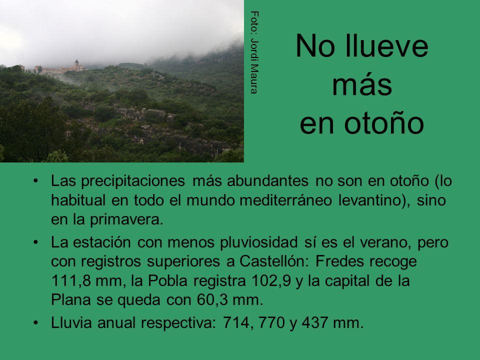 Foto: Jordi Maura No llueve más en otoño.