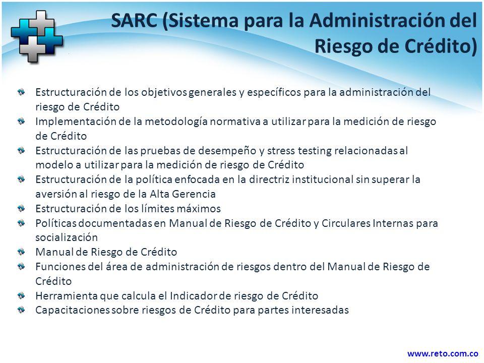 SARC (Sistema para la Administración del Riesgo de Crédito)