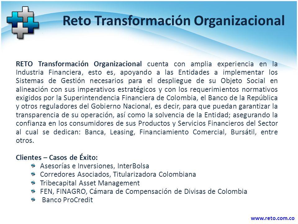 Reto Transformación Organizacional