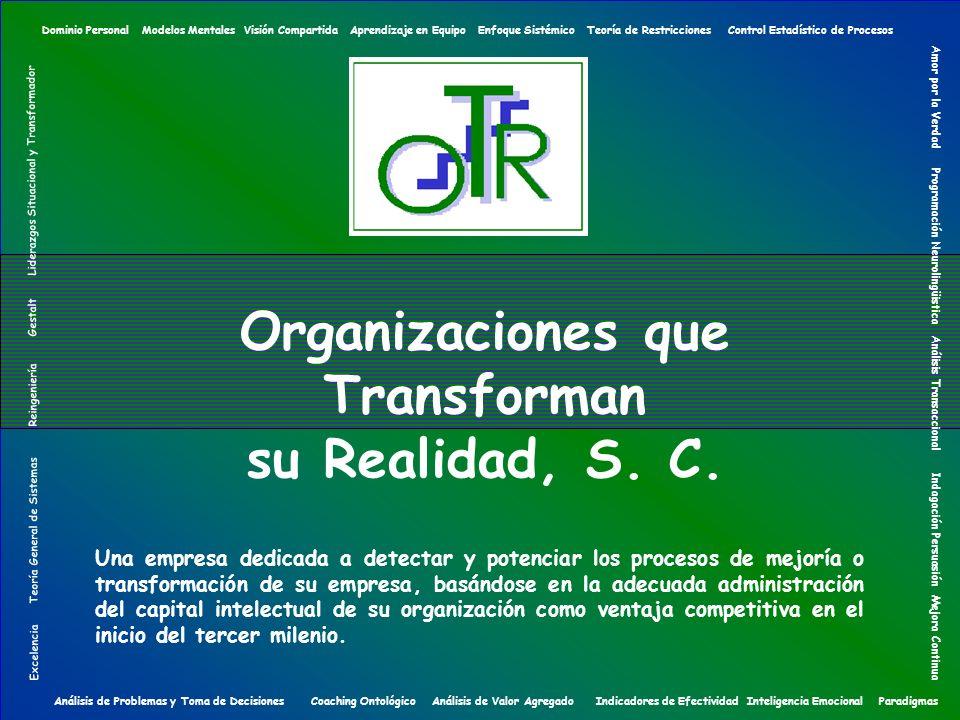 Organizaciones que Transforman