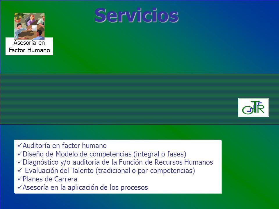 Servicios Auditoría en factor humano