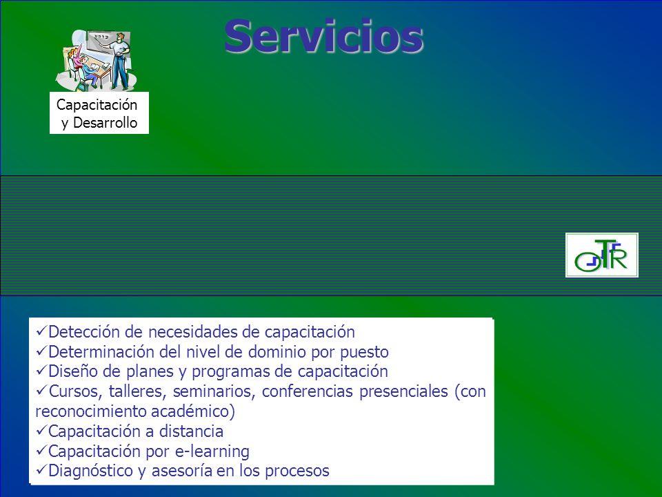 Servicios Detección de necesidades de capacitación