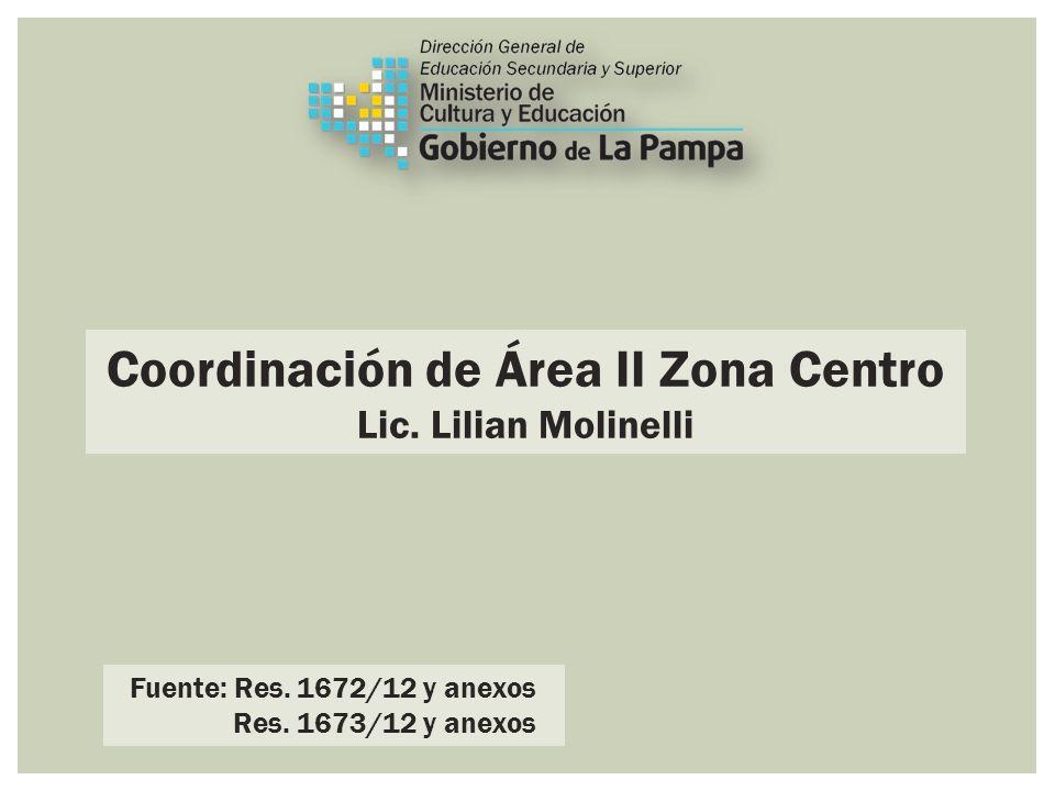 Coordinación de Área II Zona Centro