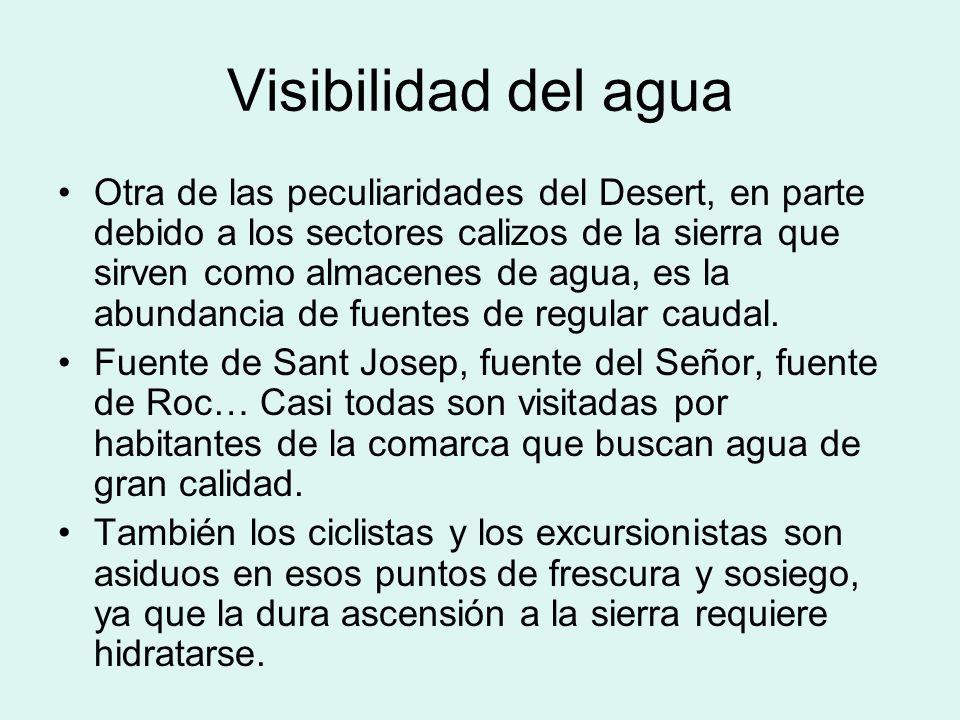 Visibilidad del agua