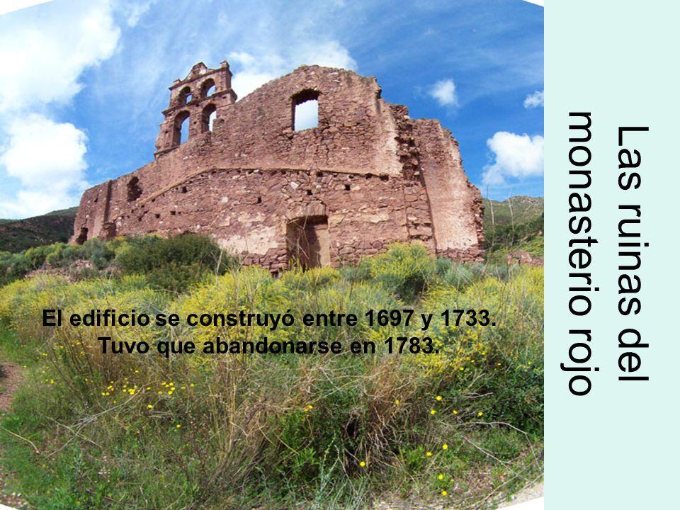 Las ruinas del monasterio rojo