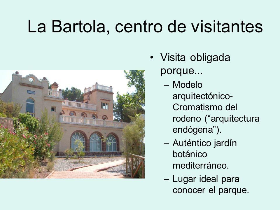 La Bartola, centro de visitantes