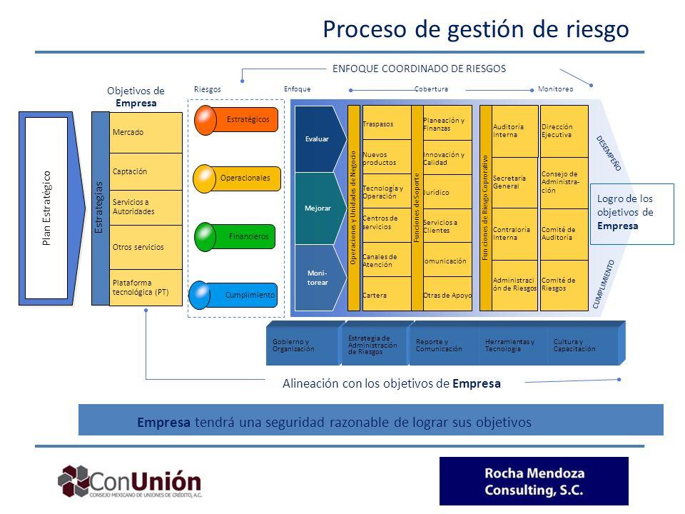 Proceso de gestión de riesgo