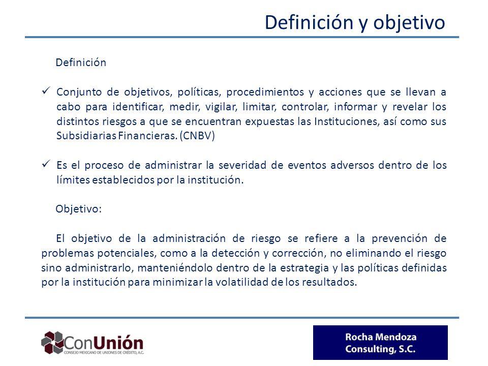 Definición y objetivo Definición