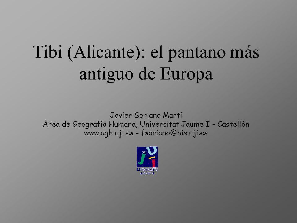 Tibi (Alicante): el pantano más antiguo de Europa