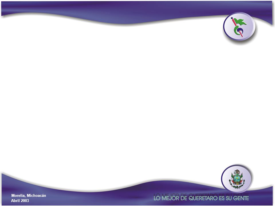 Gobierno del Estado de Querétaro Secretaría de Planeación y Finanzas