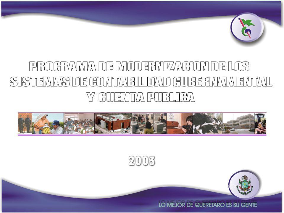 PROGRAMA DE MODERNIZACION DE LOS