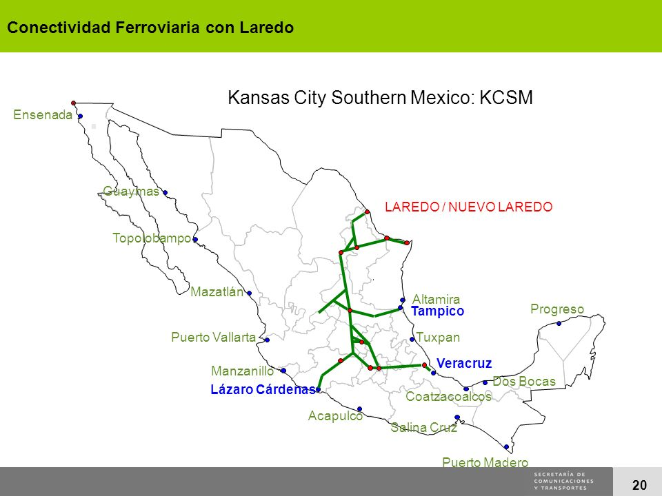 Kansas City Southern Mexico: KCSM