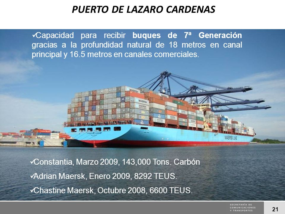 PUERTO DE LAZARO CARDENAS