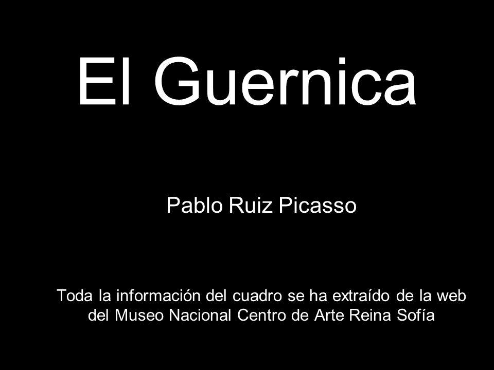 El Guernica Pablo Ruiz Picasso
