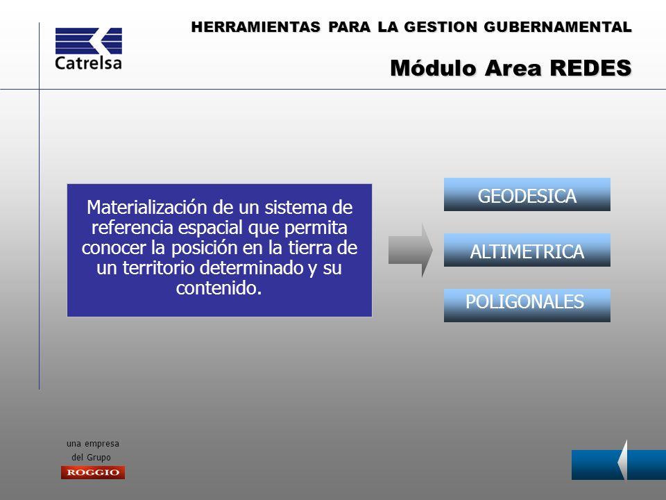 Módulo Area REDES GEODESICA