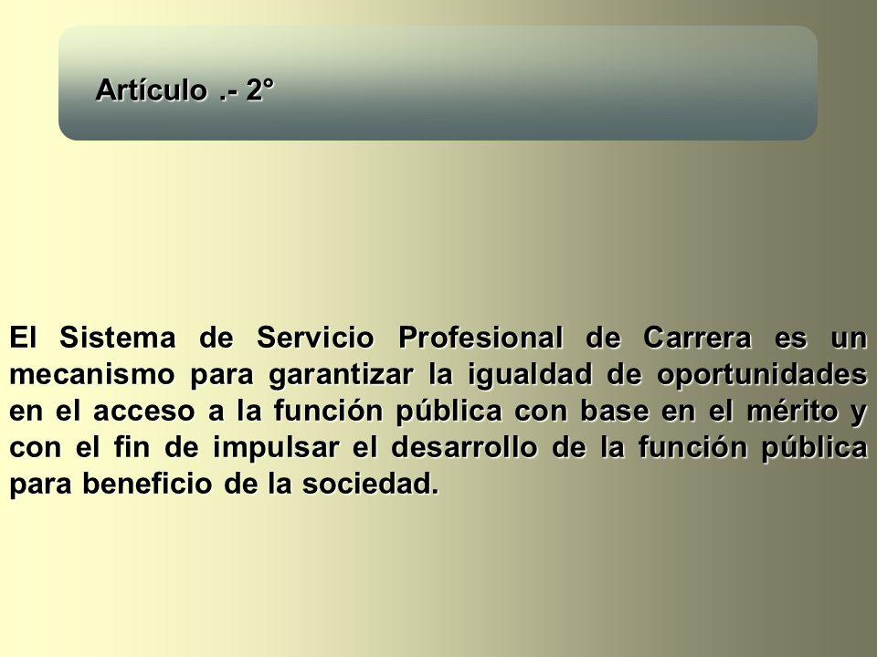 Artículo .- 2°