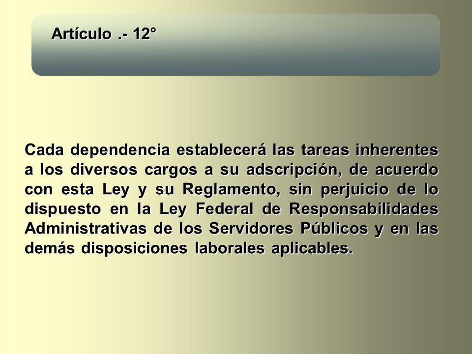 Artículo .- 12°