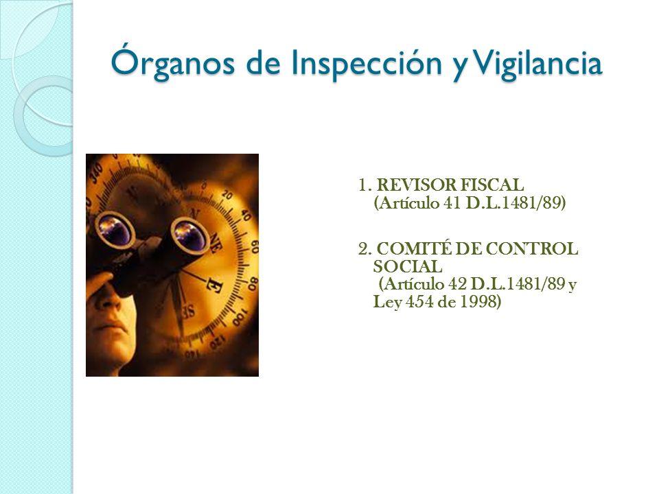 Órganos de Inspección y Vigilancia