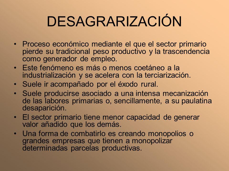 DESAGRARIZACIÓN