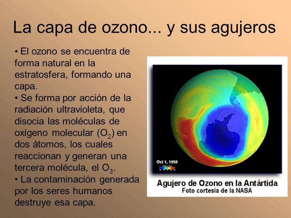 La capa de ozono... y sus agujeros