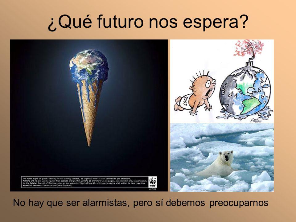 ¿Qué futuro nos espera No hay que ser alarmistas, pero sí debemos preocuparnos