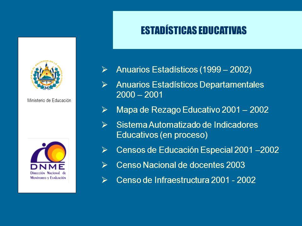 ESTADÍSTICAS EDUCATIVAS