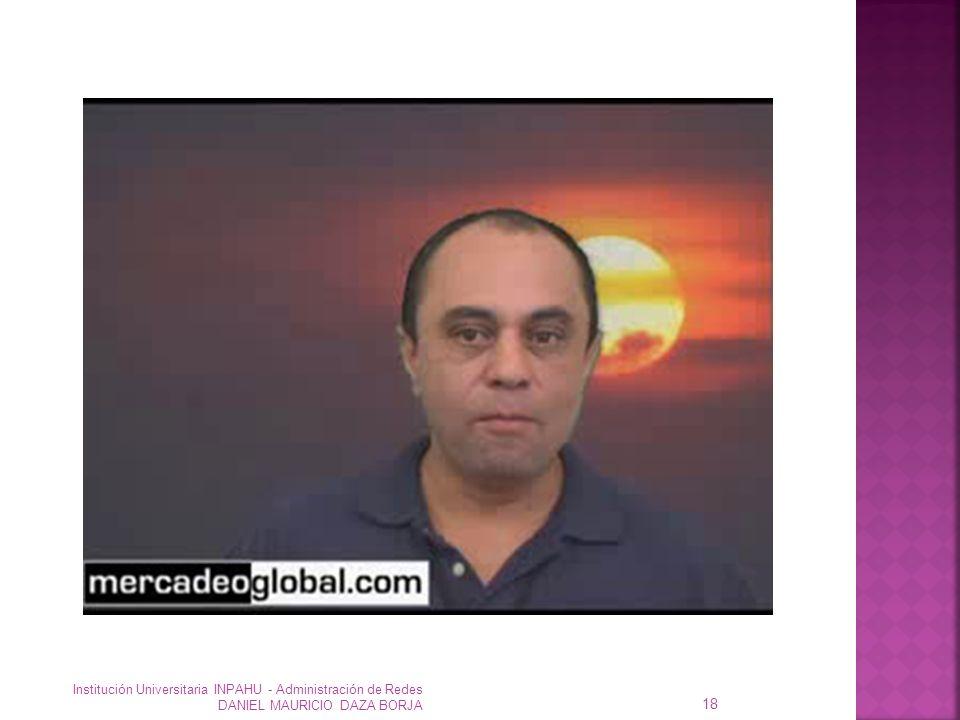 Institución Universitaria INPAHU - Administración de Redes DANIEL MAURICIO DAZA BORJA