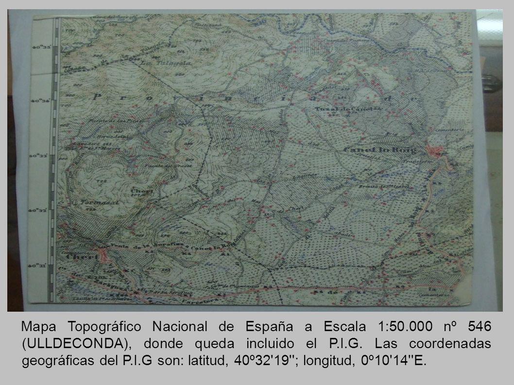 Mapa Topográfico Nacional de España a Escala 1:50