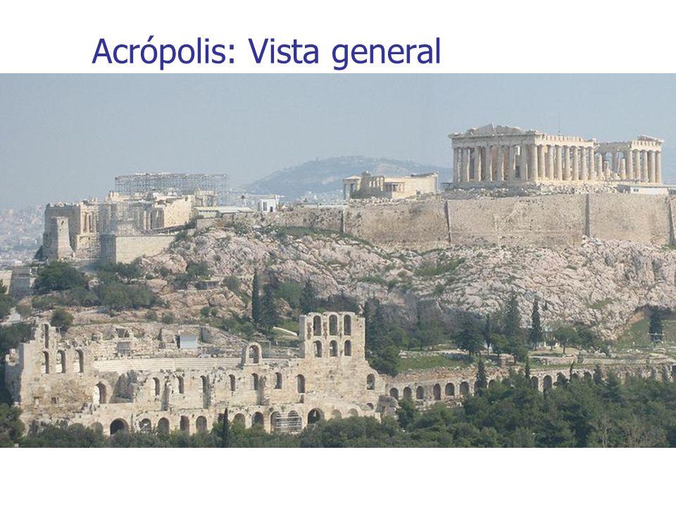 Acrópolis: Vista general