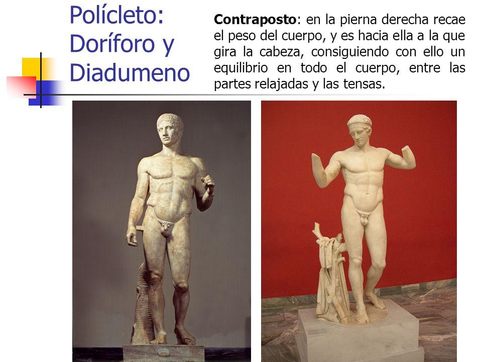 Polícleto: Doríforo y Diadumeno