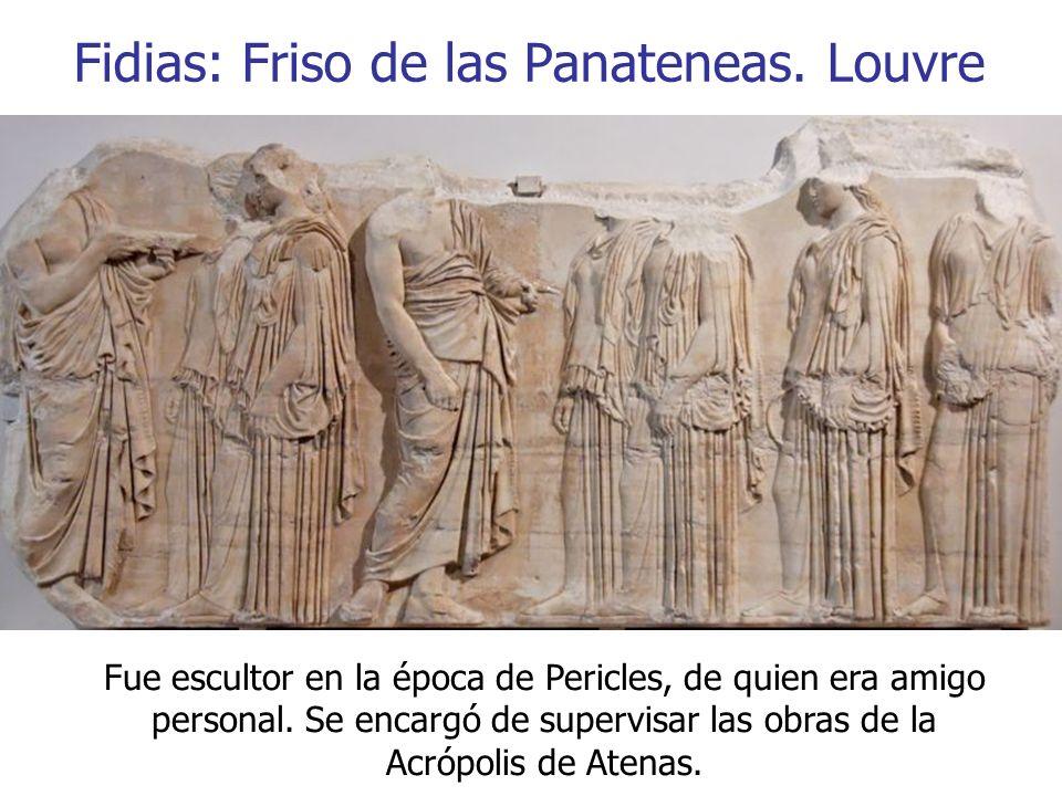 Fidias: Friso de las Panateneas. Louvre